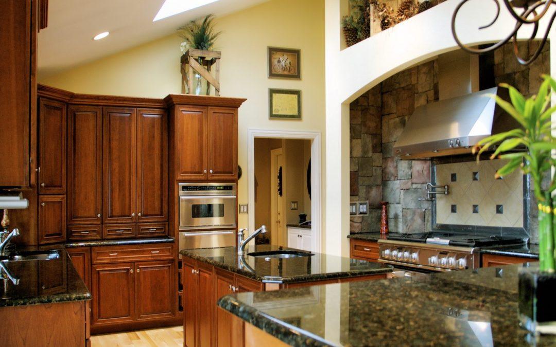 Luxury Upscale Kitchen Cabinets