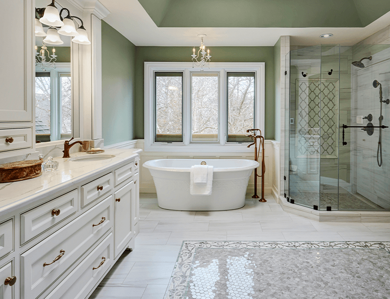 Decorating Trends for Master Bath Remodeling