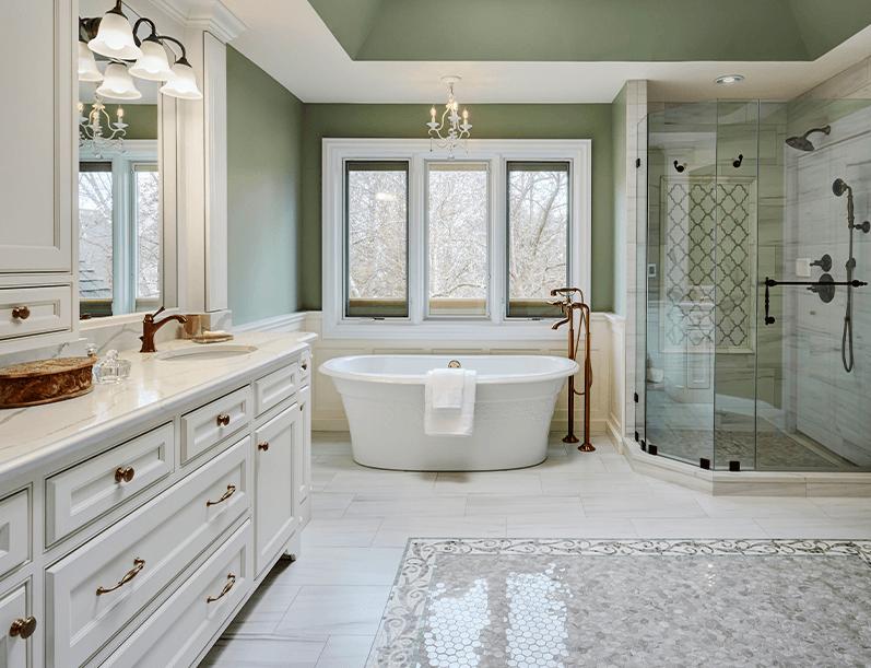 Decorating Trends for Master Bath Remodeling