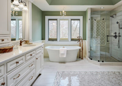 The Bluffs Master Bath